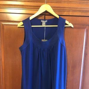 Kenar Royal Blue Top Size Large NWT